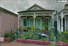 """La Nouvelle Orléans /  New Orleans.  862 St Peter street  29°57'32.28""""N 90° 3'58.43""""W"""