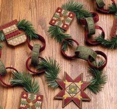 country-christmas-garland-pattern