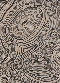 Malachite Wallpaper by Fabrics & Papers Fornasetti Wallpaper, Abstract Geometric Art, Geometric Wallpaper, Textures Patterns, Print Patterns, Illustrations, Illustration Art, Texture Drawing, Backgrounds