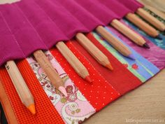 get some fresh pencils and a neat pencil roll