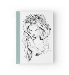 Poetic Gypsy by LouJah- #loujah #redbubble #art #notebook #journals #boho #bohochic #cahier
