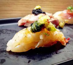 #lobster #otoro #shellfish #fish #seafood #raw #aburi #nigiri #sushi #japanesefoor #foodie #yummy #delicious #noms #foodpics #foodporn #foodgasm #instafood #Toronto #torontofood #foodtoronto #torontofoodie #torontoeats #tastetoronto by tianygu