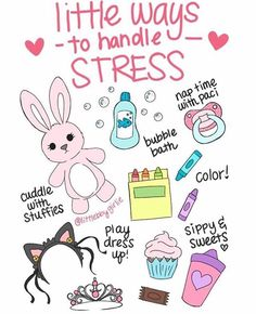 little ways to handle stress