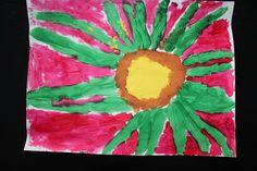 Georgia O'Keeffe Flower by Malachi