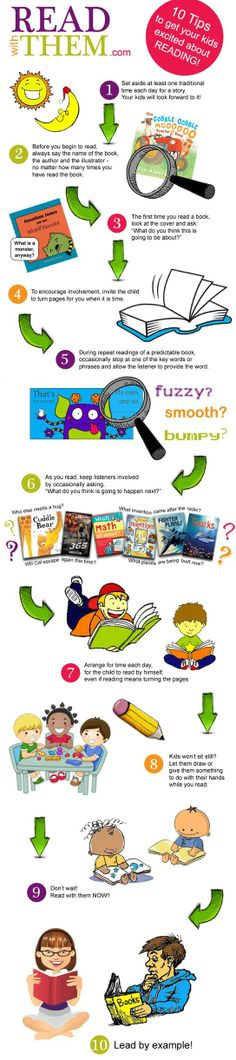 TIPS TO GET YOUR KIDS EXCITED ABOUT READING