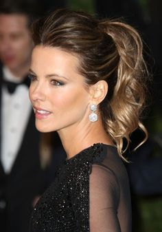 I think she is the prettiest person in the world!! And love her hair!