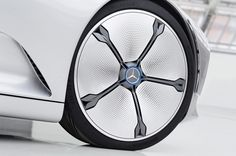 """Altered State. The Mercedes-Benz """"Concept IAA"""" (Intelligent Aerodynamc Automobile) switches automatically from design mode to aerodynamic mode when the vehicle reaches a speed of 80 km/h, whereby..."""