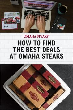 Learn 5 insider tips on how to find the best deals and sales at Omaha Steaks. Great for gifts, filling your freezer or a gourmet meal anytime. #deals #savemoney #omahasteaks #insidertips #savings Omaha Steaks, Steak Cuts, Holiday Gift Baskets, Grilling Tips, Christmas Gifts For Mom, Subscription Boxes, Food Gifts, Corporate Gifts, Family Gifts