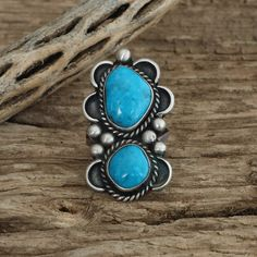 A personal favorite from my Etsy shop https://www.etsy.com/listing/281768148/native-american-jewelryturquoise