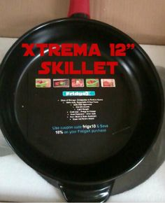 Enter for a Chance to Win Xtrema 12 Inch Ceramic Skillet Giveaway!