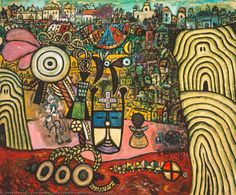 Alan Davie - The Alchemist's Mirror [Opus on canvas, Diego Rivera, Alan Davies, Abstract Art Images, 5 April, Art Uk, Outsider Art, Alchemist, Your Paintings, Oil On Canvas