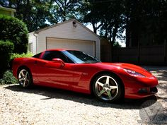 I remember when I had a red corvette....so much fun