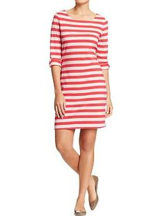 Found my new dress for the summer! Women's Tab-Sleeve Tee Dresses | Old Navy