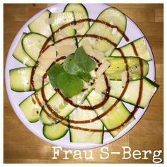 Frau S-Berg: Zucchini-Carpaccio