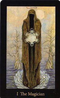 The Magician from the Mary-el Tarot