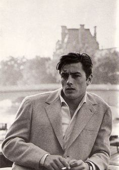 Alain Delon, not a bad looking chap, it has to be said.