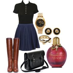 Somewhat of a PLL style school uniform...