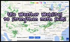 Use Weather Websites to Strengthen Math Skills and for real-world application