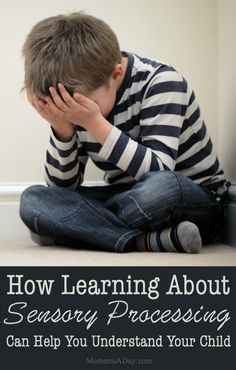 Sensory processing affects everyone but some kids struggle more than others… Parenting Books, Parenting Advice, Kids And Parenting, Gentle Parenting, Peaceful Parenting, Gloucester, Angry Child, Sad Child, Act For Kids