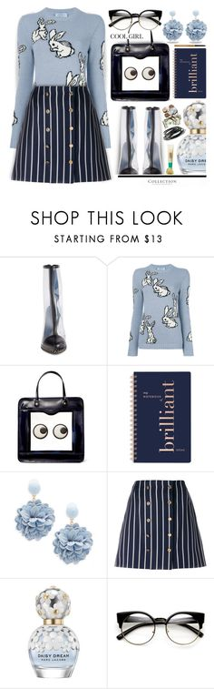 """Bottom of the Bag..."" by angiesprad ❤ liked on Polyvore featuring Miu Miu, Prada, Anya Hindmarch, Fringe, Natasha, Thom Browne, Marc Jacobs and ZeroUV"