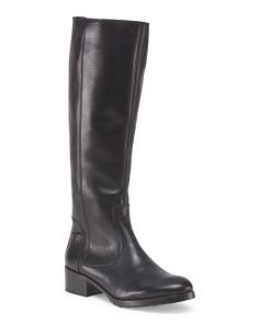 image of Leather Bix Tall Shaft Boot