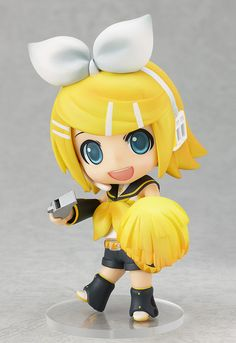 Nendoroid Vocaloid KAGAMINE RIN: Cheerful Version, by Goodsmile Company