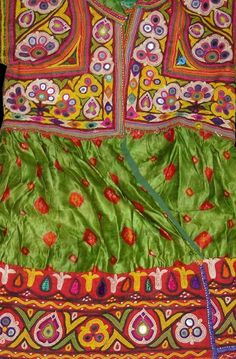 Child's Festival Jacket, Made by the Ahir Family of Kutch Gujarat India.