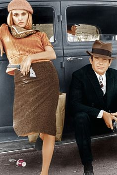 """If I could be any film character, I would be Faye Dunaway's Bonnie Parker in Bonnie And Clyde."""