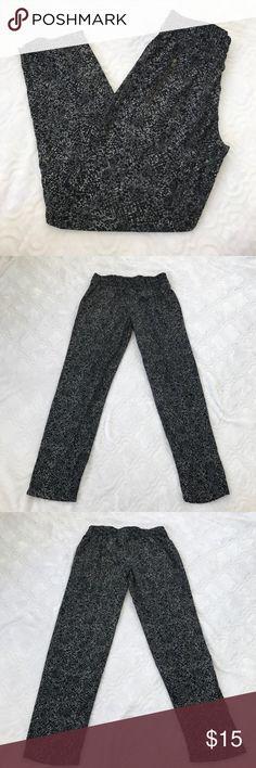 Mossimo pants (L) Black & white Mossimo polyester pants size XS Mossimo Supply Co Pants