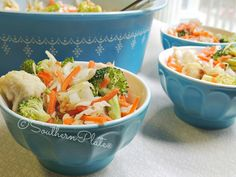 Crunchy Refrigerator Salad - keeps for up to a week in the fridge!