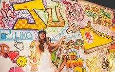 Castelo, castiçais, grafite… Confira todos os detalhes da festa incrível da Juliana Antunes - 15 anos - CAPRICHO
