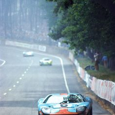 GT40 [I love these cars in Gulf livery --bhc]