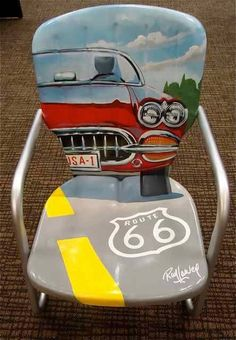 Route 66 by Ray Harvey