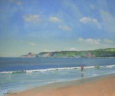 "Seascape Paintings: 24x18""   Malcolm Ludvigsen"