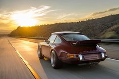 Singer Vehicle Design oxblood Porsche 911                                                                                                                                                      More