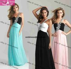 I want the blue and black one for my graduation dress!