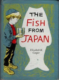 The Fish From Japan vintage kids book by OnceUponABookshop on Etsy, $4.00