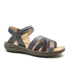 Another great find on #zulily! Ocean Canyon Federica 01 Leather Sandal by Josef Seibel #zulilyfinds