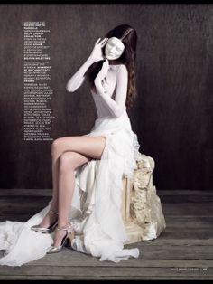 Marie Piovesan  Vogue  June 2013 Russia