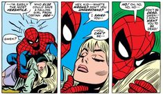 Spider-Man realizes the shocking truth about Gwen Stacy in Amazing Spider-Man #121