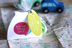 Road Trip Travel Packs -- great way reward the kids and keep them busy while traveling!