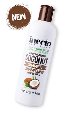 inecto Naturals Coconut Shampoo made in the UK