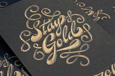 Papierveredelung mit Goldfolie und Silberfolie (11)