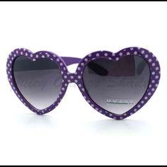 b45f9b93dc11 Juicy Orange Heart Shades Black Sunglasses