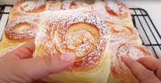 Cream Cheese Danish, Sweet Bakery, Home Baking, Doughnut, French Toast, Pavlova, Deserts, Easy Meals, Food And Drink