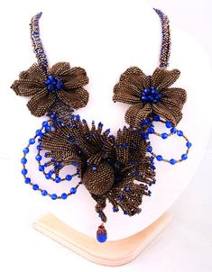 EyeCandy - Beautiful Beadwork by Marina Nosova featured in recent Bead-Patterns.com Newsletter!