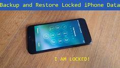 Backup and Restore Locked iPhone 7 (Plus) Data
