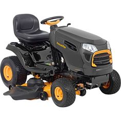 Poulan Pro 960420185 Briggs 22 hp Automatic Hydrostatic Transmission Drive Riding Mower 48 46000 Outdoor Power Issue Over LTL Weight Max * You can get additional details at the image link-affiliate link. Best Riding Lawn Mower, Riding Mower, Riding Lawn Mower Attachments, Mowers For Sale, Lawn Mower Tractor, Tractors For Sale, Lawn Service, Backyard Garden Design, Mini