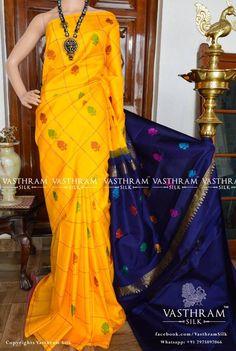 kanchipuram silk saree cost 9800 whatapp: 91 7019277192