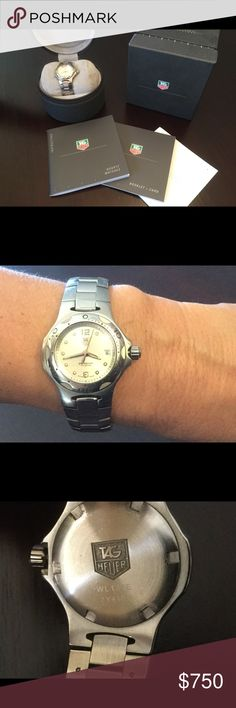 Tag Heuer Woman's Watch Excellent condition Tag Heuer Women's watch Jewelry